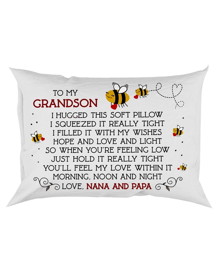 nana and papa - grandson Rectangular Pillowcase
