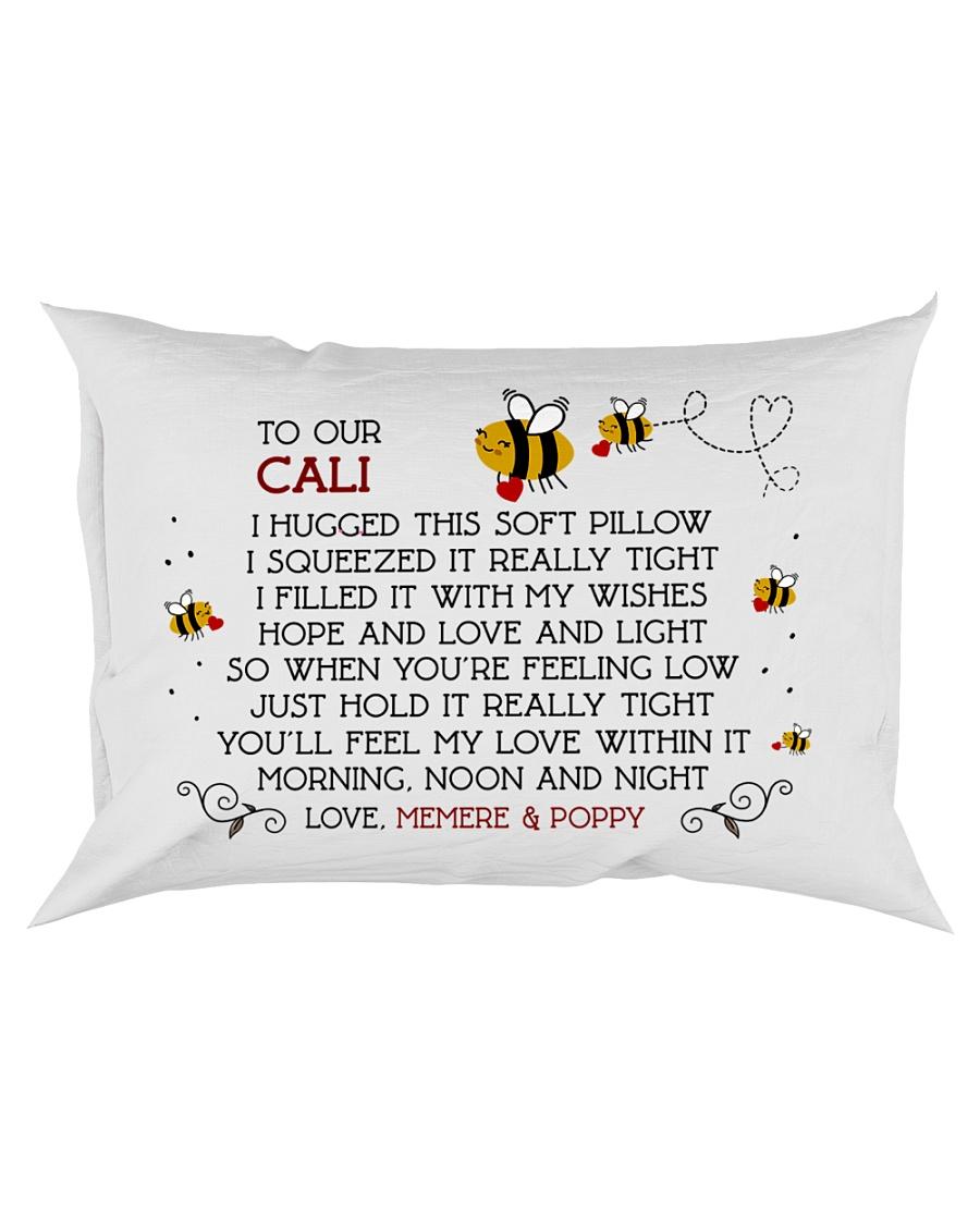 Memere Poppy - CALI Rectangular Pillowcase