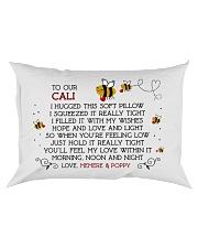 Memere Poppy - CALI Rectangular Pillowcase front