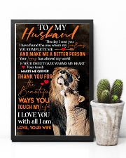 To My Husband Lion - Poster 11x17 Poster lifestyle-poster-8