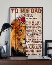 To My Dad Lion King - Family - Poster - may2120 11x17 Poster lifestyle-poster-2