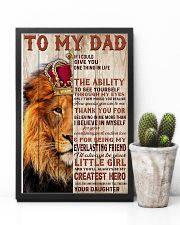 To My Dad Lion King - Family - Poster - may2120 11x17 Poster lifestyle-poster-8