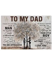 Poster - To My Dad - Son 2 17x11 Poster front