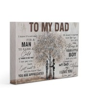 Poster - To My Dad - Son 2 14x11 Gallery Wrapped Canvas Prints thumbnail