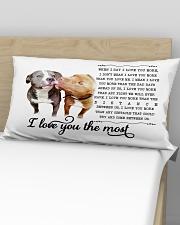 Pillow Pit Bull 2 Rectangular Pillowcase aos-pillow-rectangular-front-lifestyle-02