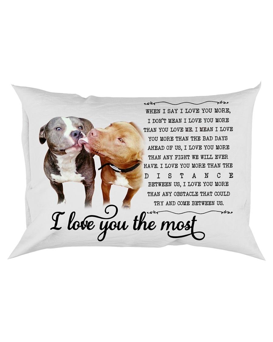 Pillow Pit Bull 2 Rectangular Pillowcase