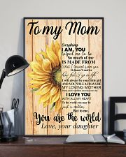 Poster - To My Mom You Are The World  11x17 Poster lifestyle-poster-2