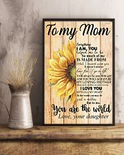 Poster - To My Mom You Are The World  11x17 Poster lifestyle-poster-3