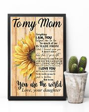 Poster - To My Mom You Are The World  11x17 Poster lifestyle-poster-8