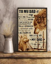To My Dad - Wolf - Poster Son 11x17 Poster lifestyle-poster-3