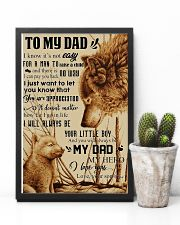 To My Dad - Wolf - Poster Son 11x17 Poster lifestyle-poster-8