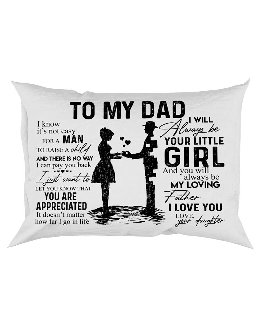 Pillow - To My Dad - Daughter Rectangular Pillowcase