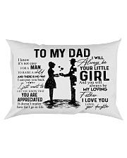 Pillow - To My Dad - Daughter Rectangular Pillowcase front