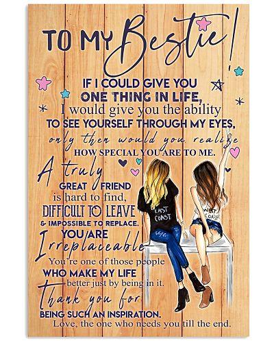 To My Bestie - Poster