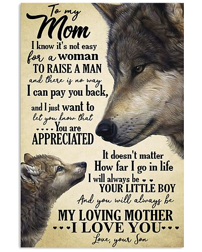 To My Mom Wolf - Poster