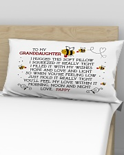 PAPPY - GRANDDAUGHTER Rectangular Pillowcase aos-pillow-rectangular-front-lifestyle-02
