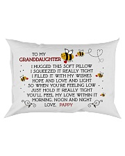 PAPPY - GRANDDAUGHTER Rectangular Pillowcase front