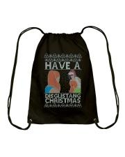 BEST CHRISTMAS JUMPER EVER Drawstring Bag thumbnail