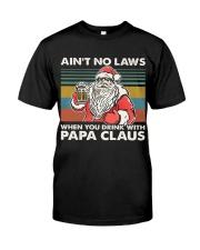 PAPA CLAUS Classic T-Shirt front