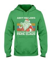 PAPA CLAUS Hooded Sweatshirt thumbnail