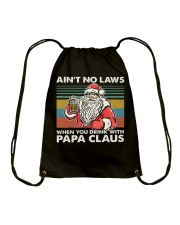 PAPA CLAUS Drawstring Bag thumbnail