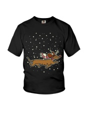 CHRISTMAS IS COMING Youth T-Shirt thumbnail