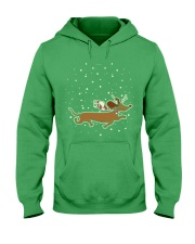 CHRISTMAS IS COMING Hooded Sweatshirt thumbnail