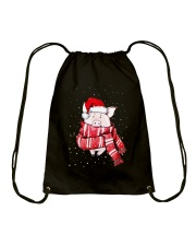CHRISTMAS IS COMING Drawstring Bag thumbnail