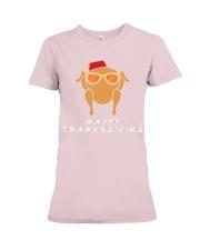 HAPPY THANKSGIVING Premium Fit Ladies Tee thumbnail