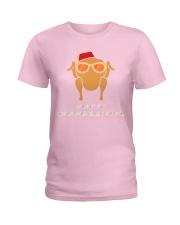 HAPPY THANKSGIVING Ladies T-Shirt thumbnail