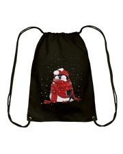 CHRISTMAS IS COMING Drawstring Bag thumbnail