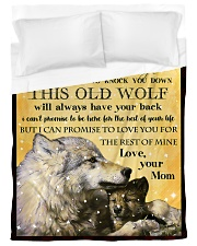 TO MY SON Duvet Cover - Twin XL front