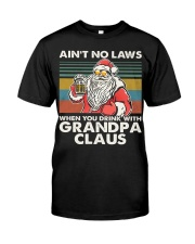 GRANDPA CLAUS Classic T-Shirt front