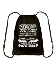 BEST GIFTS FOR DOGS LOVERS Drawstring Bag thumbnail
