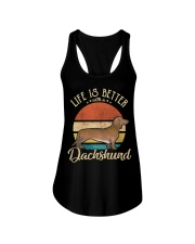 LIFE IS BETTER WITH A DACHSHUND Ladies Flowy Tank thumbnail