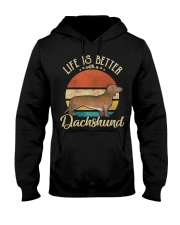 LIFE IS BETTER WITH A DACHSHUND Hooded Sweatshirt thumbnail