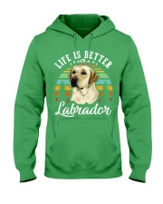 LIFE IS BETTER WITH A LABRADOR Hooded Sweatshirt thumbnail