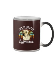 LIFE IS BETTER WITH A LABRADOR Color Changing Mug thumbnail