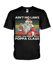 PAPA CLAUS V-Neck T-Shirt thumbnail