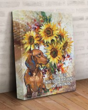 DACHSHUND CANVAS JUST A GIRL 11x14 Gallery Wrapped Canvas Prints aos-canvas-pgw-11x14-lifestyle-front-07