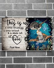THIS IS US CUSTOM POSTER-BATH MAT-DOORMAT 17x11 Poster poster-landscape-17x11-lifestyle-18