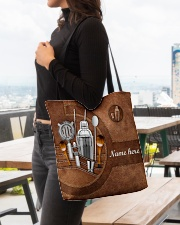 BARTENDER CLOTH TOTE-ACCESSORY POUCH-PILLOW All-over Tote aos-all-over-tote-lifestyle-front-04