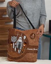 BARTENDER CLOTH TOTE-ACCESSORY POUCH-PILLOW All-over Tote aos-all-over-tote-lifestyle-front-10