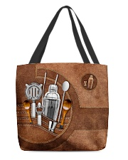 BARTENDER CLOTH TOTE-ACCESSORY POUCH-PILLOW All-over Tote back