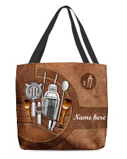 BARTENDER CLOTH TOTE-ACCESSORY POUCH-PILLOW All-over Tote front