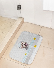 "YORKIE BATH MAT - DOORMAT Bath Mat - 24"" x 17"" aos-accessory-bath-mat-24x17-lifestyle-front-02"