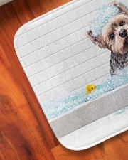 "YORKIE BATH MAT - DOORMAT Bath Mat - 24"" x 17"" aos-accessory-bath-mat-24x17-lifestyle-front-05"