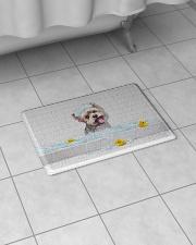 "YORKIE BATH MAT - DOORMAT Bath Mat - 24"" x 17"" aos-accessory-bath-mat-24x17-lifestyle-front-07"