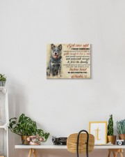 HEELER CANVAS - GOD ONCE SAID 14x11 Gallery Wrapped Canvas Prints aos-canvas-pgw-14x11-lifestyle-front-03