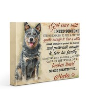 HEELER CANVAS - GOD ONCE SAID 14x11 Gallery Wrapped Canvas Prints front